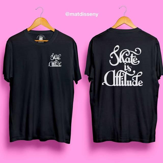 Skate is Attitude T-shirt